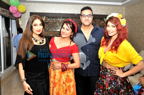 Lucky Morani, Liza Malik, Mohamed Morani, Shama Sikander