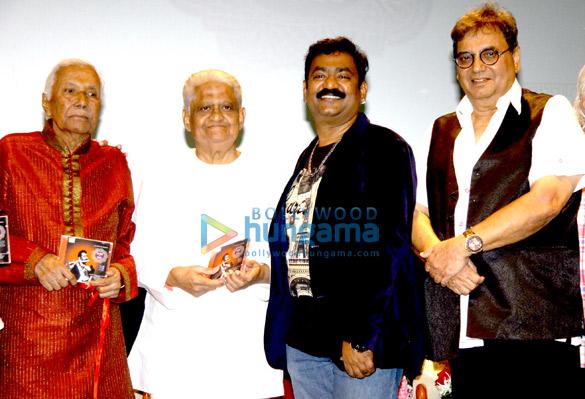 Ustad Ghulam Mustafa Khan, Pyarelal,  Naveen Kumar, Subhash Ghai
