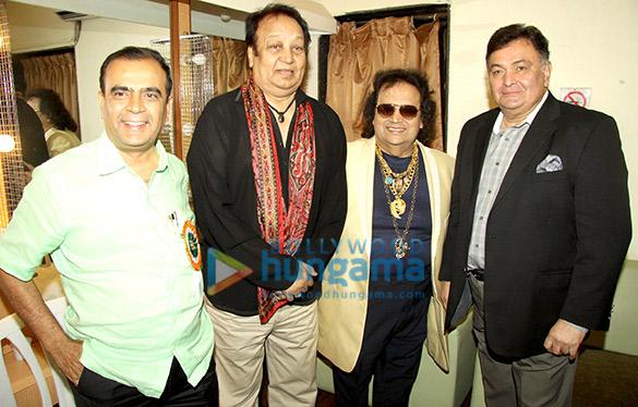 Yogesh Lakhani, Bhupinder Singh, Bappi Lahiri, Rishi Kapoor