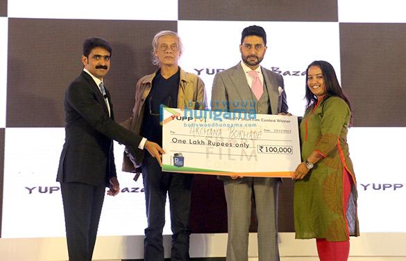 Uday Reddy, Sudhir Mishra, Abhishek Bachchan