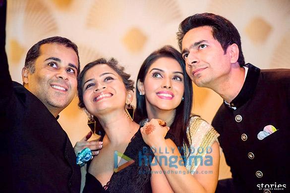 Chetan Bhagat, Anusha Bhagat, Asin, Rahul Sharma