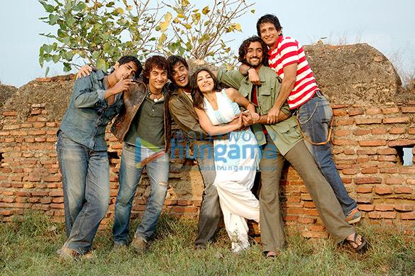 Siddharth, Aamir Khan, R Madhavan, Soha Ali Khan, Kunal Kapoor, Sharman Joshi