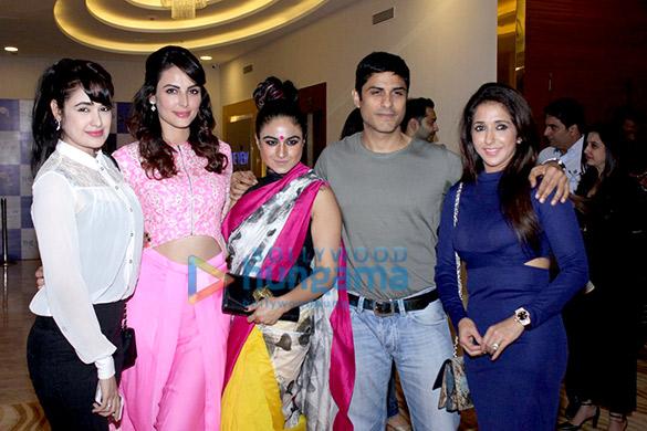 Yuvika Chaudhary, Mandana Karimi, Priya Malik, Vikas Bhalla, Krishika Lulla