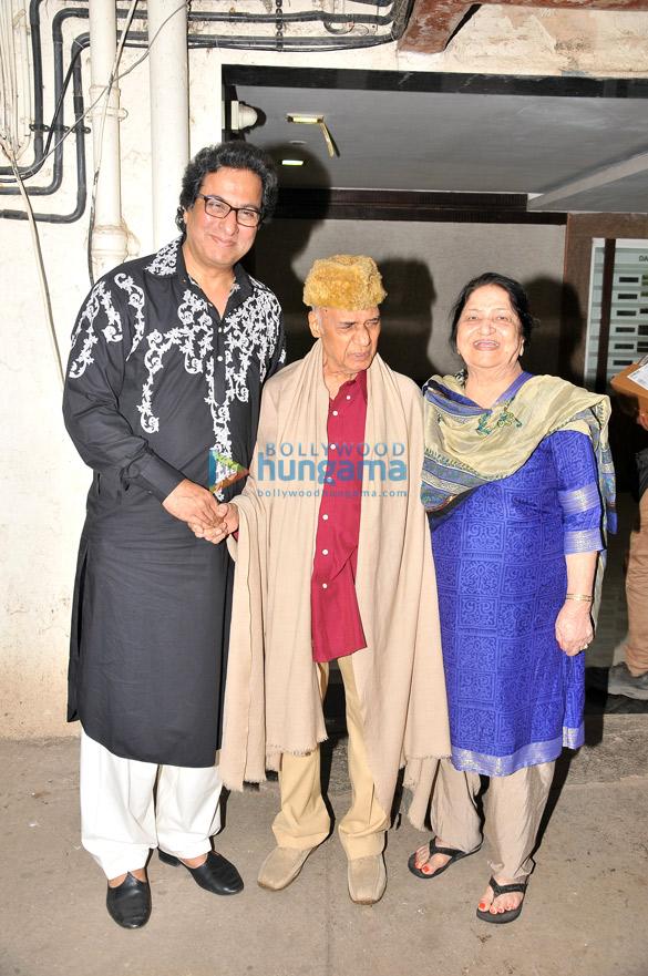 Talat Aziz, Khayyam Saab, Mrs. Jagjit Kaur