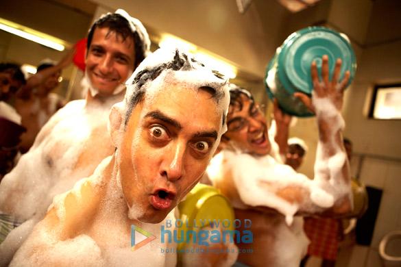 Sharman Joshi, Aamir Khan, R Madhavan