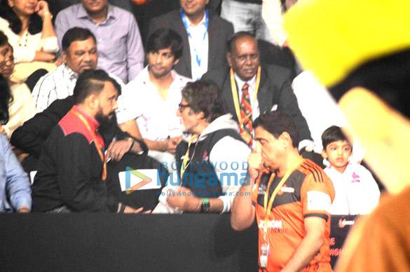 Bunty Walia, Amitabh Bachchan