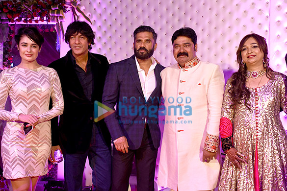 Yuvika Chaudhary, Chunky Pandey, Suniel Shetty
