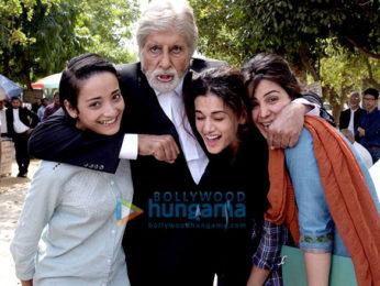 Amitabh Bachchan,Tapsee Pannu,Kirti Kulhari