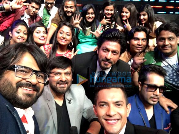 Pritam Chakraborty, Wajid, Shah Rukh Khan, Aditya Narayan, Mika Singh