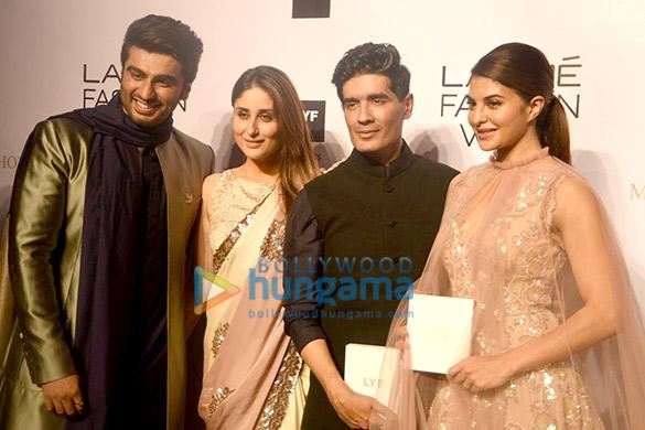 Arjun Kapoor, Kareena Kapoor Khan, Manish Malhotra, Jacqueline Fernandez