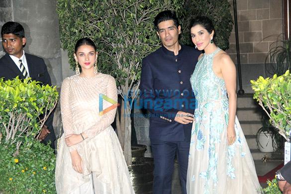 Aditi Rao Hydari, Manish Malhotra, Sophie Choudry