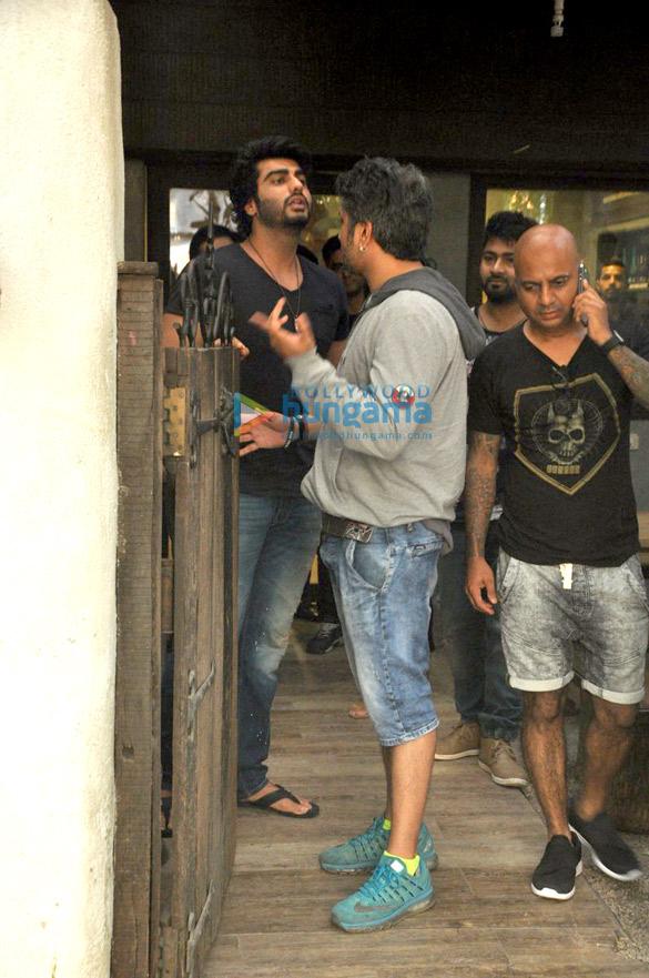 Arjun Kapoor, Mohit Suri, Hakim Aalim