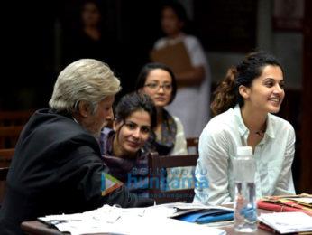Amitabh Bachchan,Kirti Kulhari,Tapsee Pannu