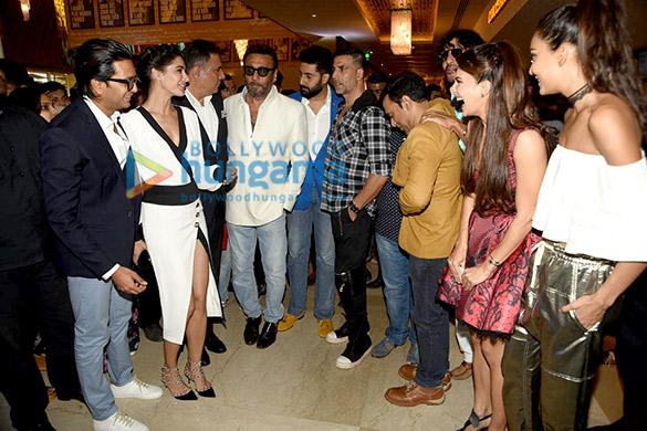 Riteish Deshmukh, Nargis Fakhri, Boman Irani, Jackie Shroff, Abhishek Bachchan, Akshay Kumar, Jacqueline Fernandez, Lisa Haydon