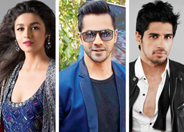 Alia Bhatt, Varun Dhawan, Sidharth Malhotra come together for a musical tour with mentor Karan Johar