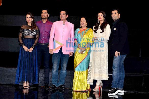 Malaika Arora Khan, Randeep Hooda, Omung Kumar, Kirron Kher, Aishwarya Rai Bachchan, Karan Johar