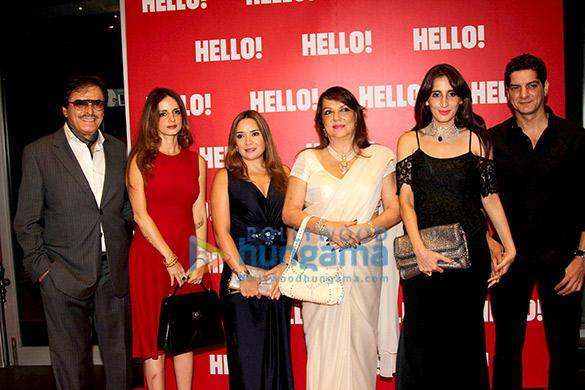 Sanjay Khan, Sussane Khan, Zarine Khan, Farah Ali Khan, DJ Aqeel