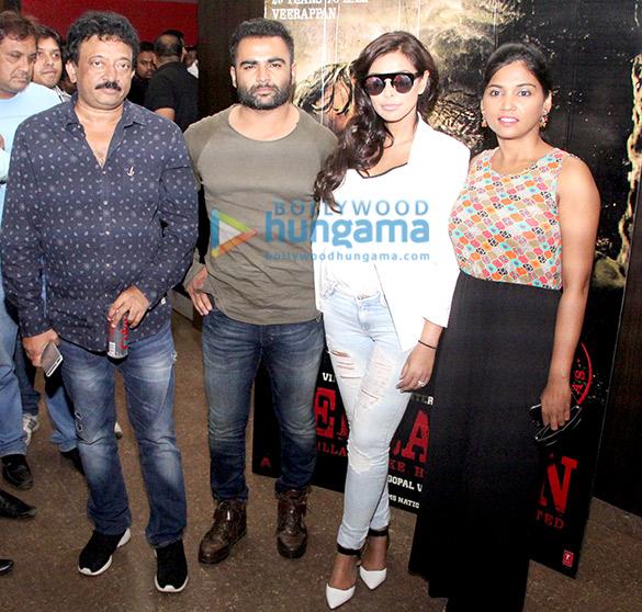 Ram Gopal Varma, Sachiin Joshi, Lisa Ray, Usha Jadhav