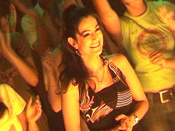 On The Sets Of The Film Mere Jeevan Saathi Featuring Ameesha Patel