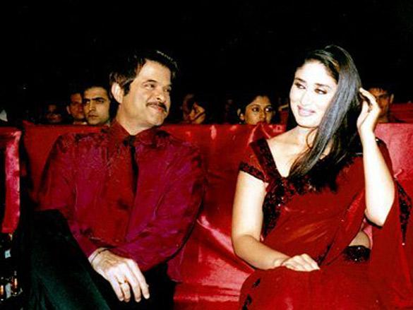 On The Sets Of The Film Bewafaa Featuring Anil Kapoor,Kareena Kapoor