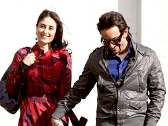 Movie Still From The Film Kurbaan,Kareena Kapoor,Saif Ali Khan