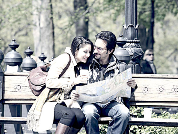 Movie Still From The Film Kurbaan,Kareena Kapoor,Saif Ali Khan