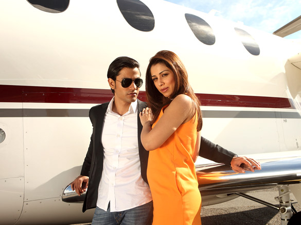 Movie Still From The Film Blood Money,Kunal Khemu,Amrita Puri
