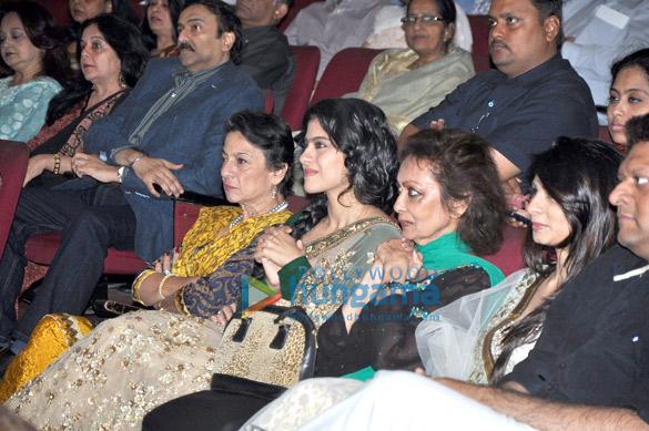Tanuja, Kajol, Chitra Singh, Tanisha Mukherjee
