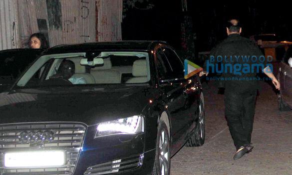 Aditya Chopra and Rani Mukerji snapped at Aamir Khan's new house