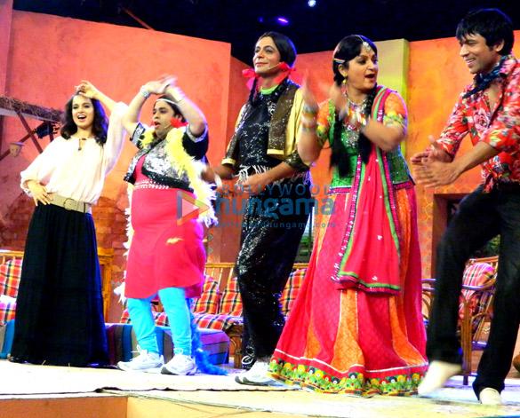 Kangna Ranaut, Kiku Sharda, Sunil Grover, Upasana Singh, Chandan Prabhakar