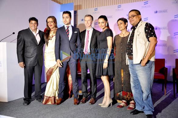 Cyrus Broacha, Laxmi Narayan Tripathi, Imran Khan, Celina Jaitly