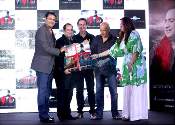 Devraj Sanyal, Rahat Fateh Ali Khan, Andy Gaitskell Kendrick, Mahesh Bhatt, Seema Ahmed