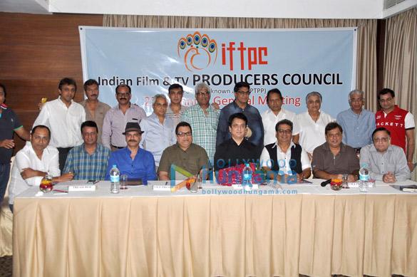 JD Majethia, Ramesh S Taurani, Sajid Nadiadwala, Subhash Ghai, David Dhawan