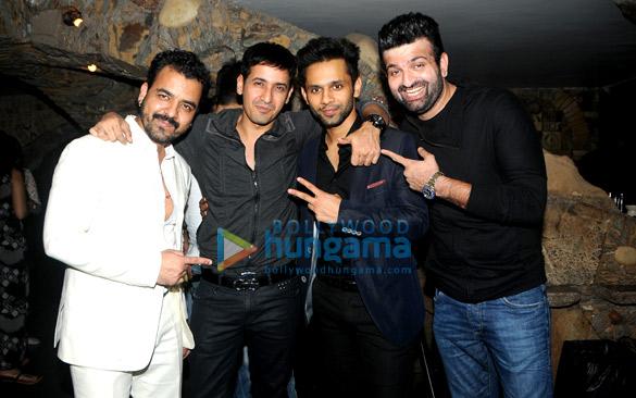 Toshi Sabri, Harmeet Singh, Rahul Vaidya, Navraj Hans