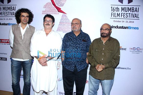 Imtiaz Ali, Kunal Kapoor, Shyam Benegal, Govind Nihalani