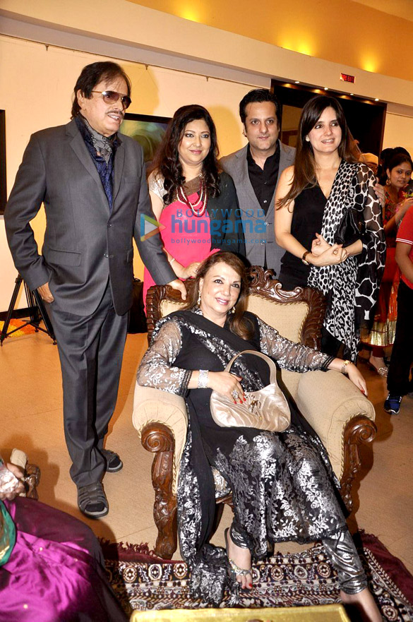 Sanjay Khan, Zarine Khan, Fardeen Khan, Simone Khan