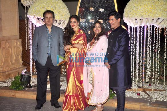 Bhupinder Singh, Rekha, Mitali Sing, Manish Malhotra