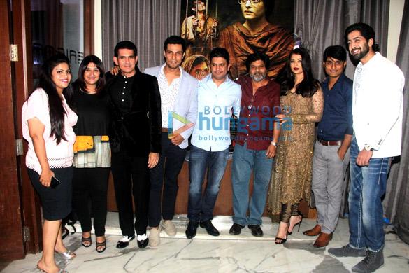 Vanita Omung Kumar, Omung Kumar, Randeep Hooda, Bhushan Kumar, Aishwarya Rai Bachchan, Sandeep Singh Kumar