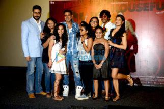 Abhishek Bachchan, Akshay Kumar, Chunky Pandey, Jacqueline Fernandez