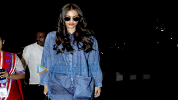 John Abraham, Sonam Kapoor & Amy Jackson snapped at the airport