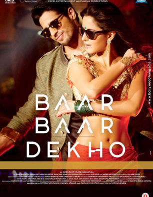 First Look Of The Movie Baar Baar Dekho