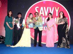 Dharmendra, Jackie Shroff & Ramesh Sippy at Savvy Honours 2016