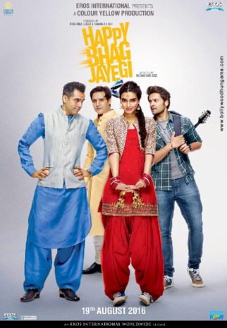 First Look Of The Movie Happy Bhag Jayegi