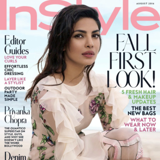 Priyanka Chopra On The Cover Of Instyle