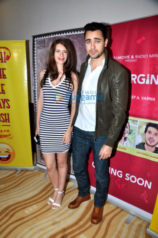 Kalki Koechlin, Imran Khan & Sudhir Mishra attend the special screening of short film 'The Virgins'
