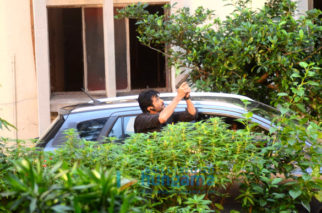 Anil Kapoor snapped while shooting for 24 (Series 2) in Juhu, Mumbai