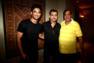 David drops in to meet Sushant