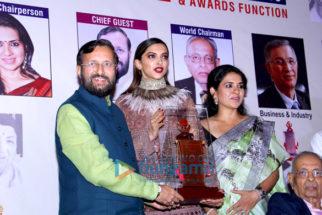 Prakash Javdekar, Deepika Padukone, Shaina NC