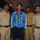 Sushant Singh Rajput meets police personnel during 'M.S. Dhoni - The Untold Story' promotions