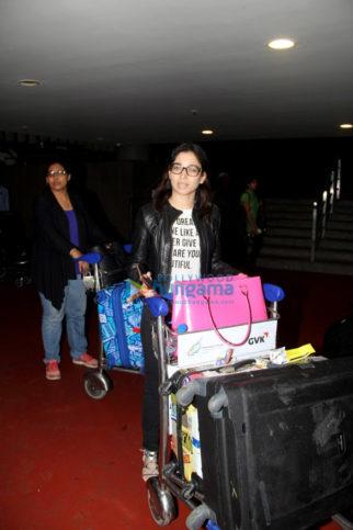 Tamannaah Bhatia, Elli Avram, Prachi Desai & Kaira Advani snapped at the airport
